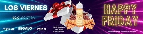 Disfruta de esta promoción flash y llévate gratis 1x KINGS CREST DON JUAN CHURRO 50ML por realizar cualquier compra en nuestra web.