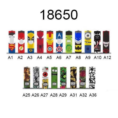 Battery Wrapper 18650