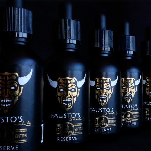 Drops Fausto's Deal Reserve Edición Limitada 50ml (Shortfill)