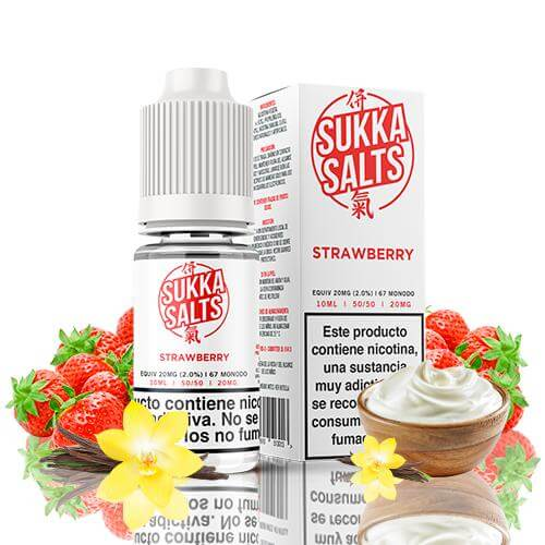 Sukka Salts Strawberry 10ml